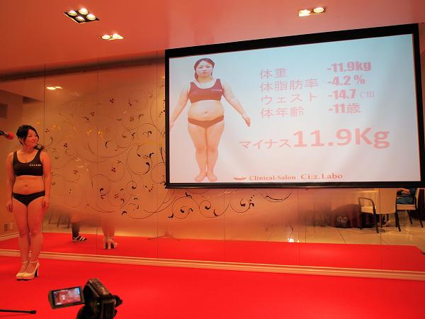 メディカルエステ『シーズラボ』のダイエットコンテスト