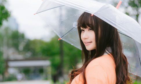 雨の日のスキンケア
